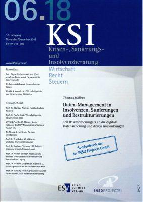 KSI Veröffentlichung zum Thema Datentransparenz