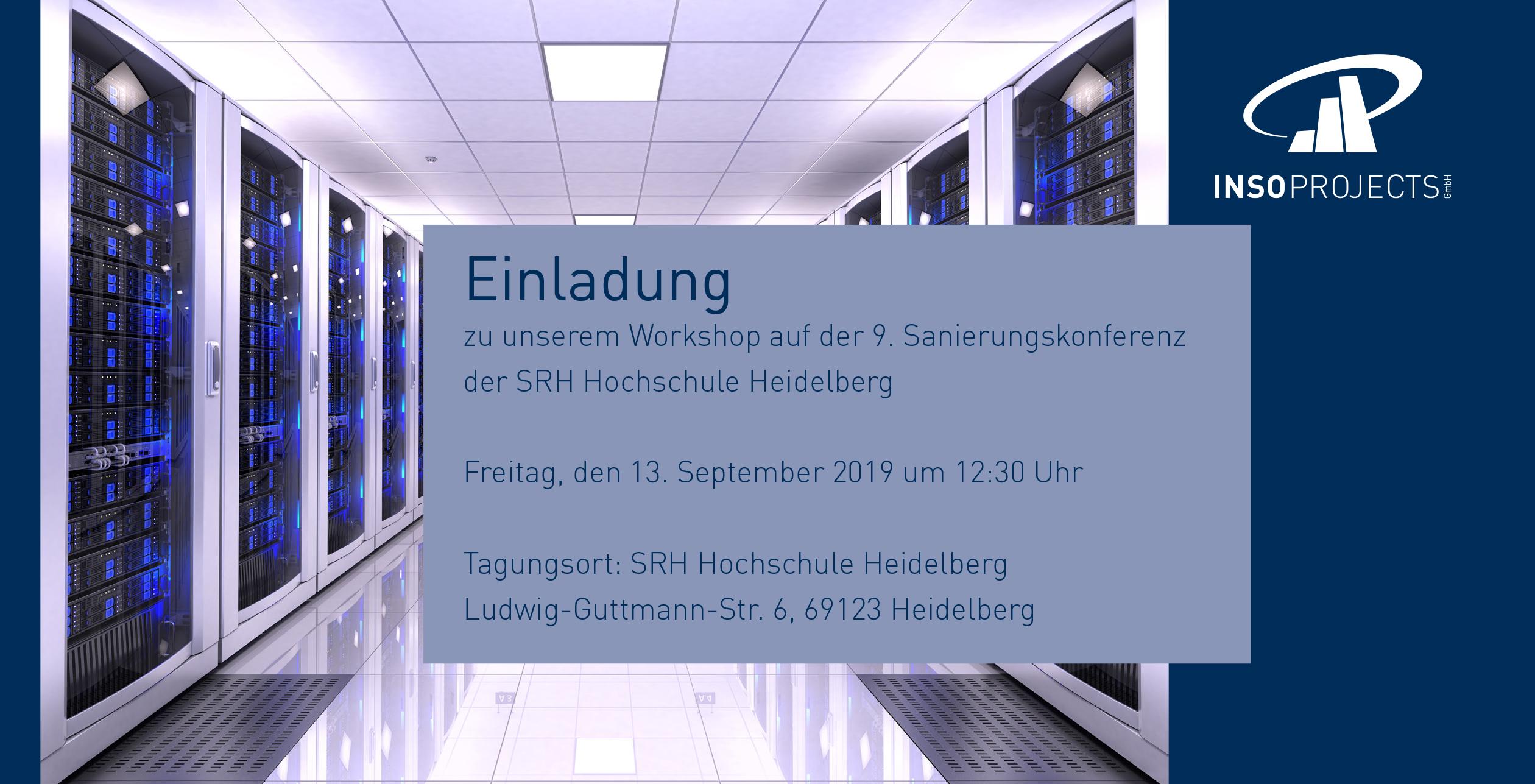 Einladung zum Workshop von Inso Projects