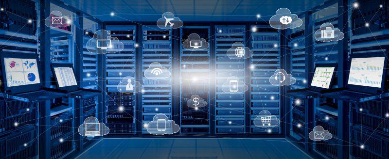server für digitale daten-sicherung in insolvenzen