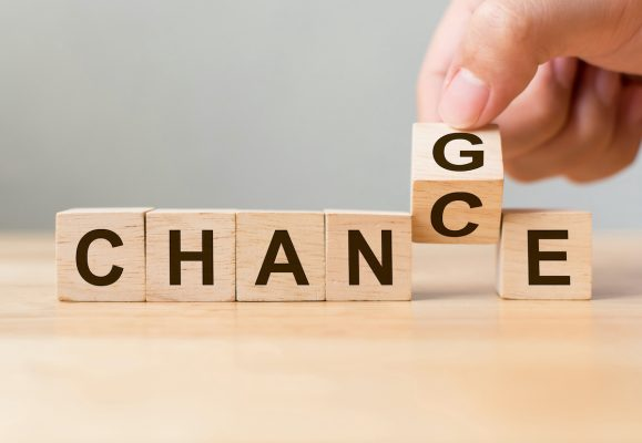 Change Management offers new chances