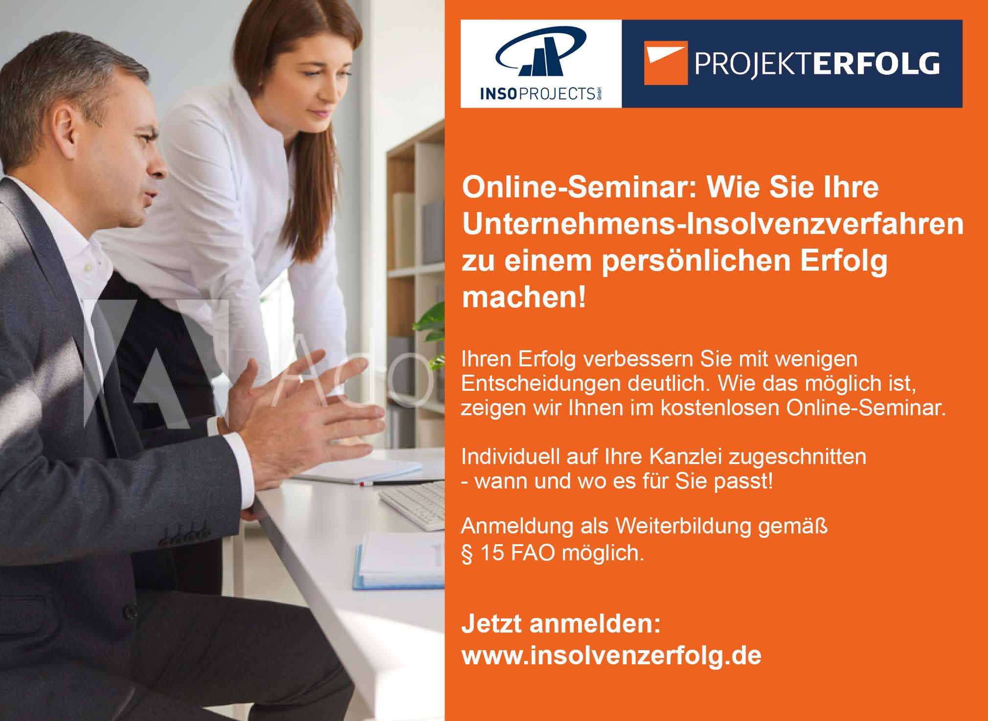 Einladung Online-Seminar